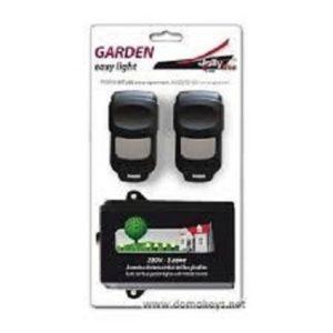 Kit éclairage de jardin avec télécommandes