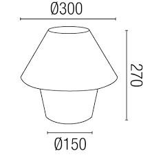 Lampe de bureau Versus-P Faro