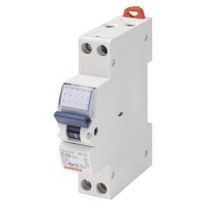 Disjoncteur modulaire Ph+N 16A GEWISS
