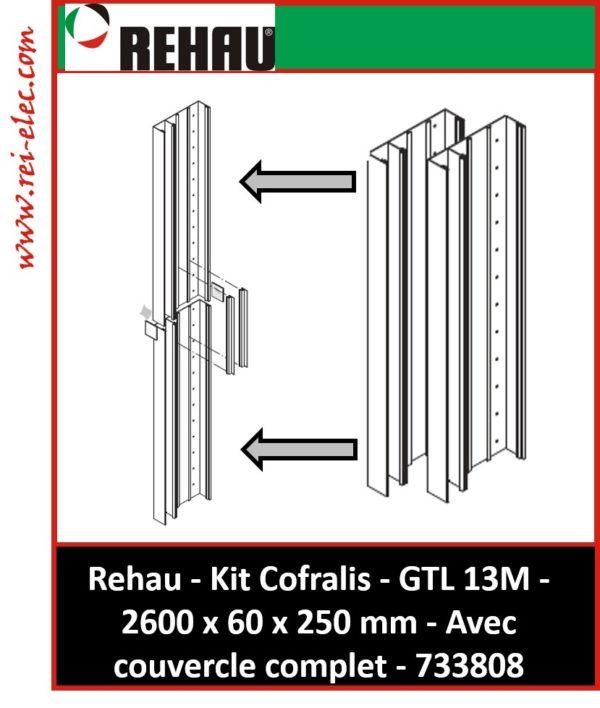 Kit Cofralis GTL-13 modules 2 x 1300 mm REHAU 733808