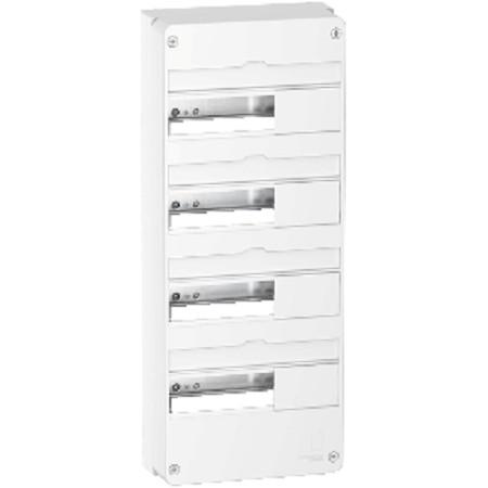 Coffret électrique 3 rangées de 13 modules Resi9