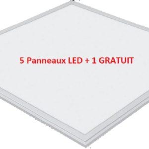 Lot de 5 panneaux led Lady Light